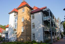 Seitenansicht Villa Wagenknecht in Boltenhagen