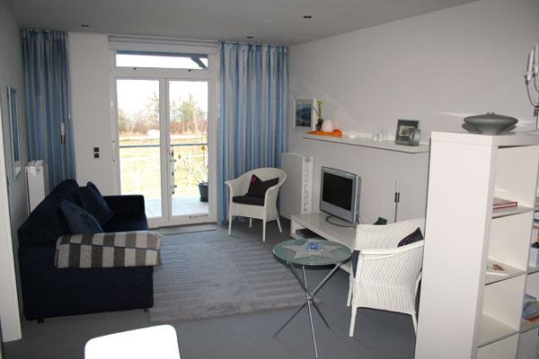 Wohnzimmer | Ferienwohnung 08 | Villa Wagenknecht