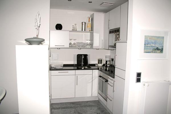 Küche | Ferienwohnung 08 | Villa Wagenknecht