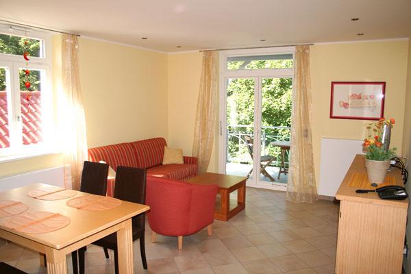 Wohnzimmer   Ferienwohnung 15   Villa Wagenknecht